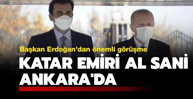 Katar Emiri Al Sani Ankara'da