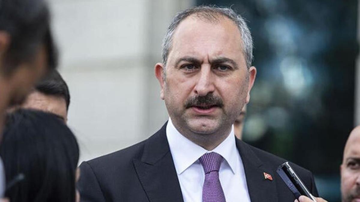 Adalet Bakanı Gül'den Akıncı Üssü davası açıklaması