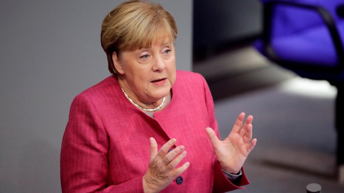 Almanya Başbakanı Merkel: Ne durumda olacağımız tahayyül bile edilemezdi