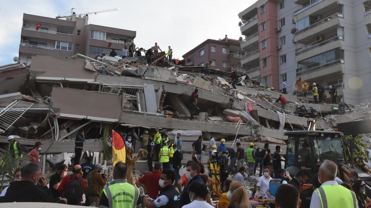 İzmir'deki depremden acı haber: Tedavi altındaki Mahir Tahirler hayatını kaybetti