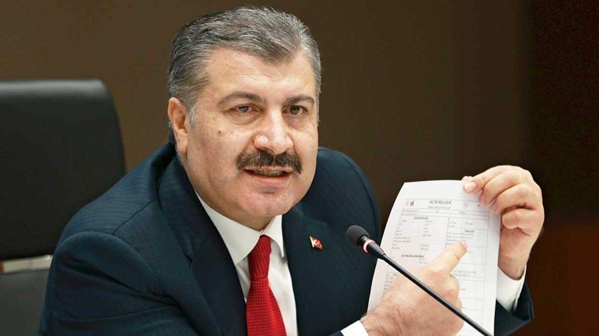 Sağlık Bakanı Fahrettin Koca: Dört büyükşehirde 3. zirve yaşanıyor