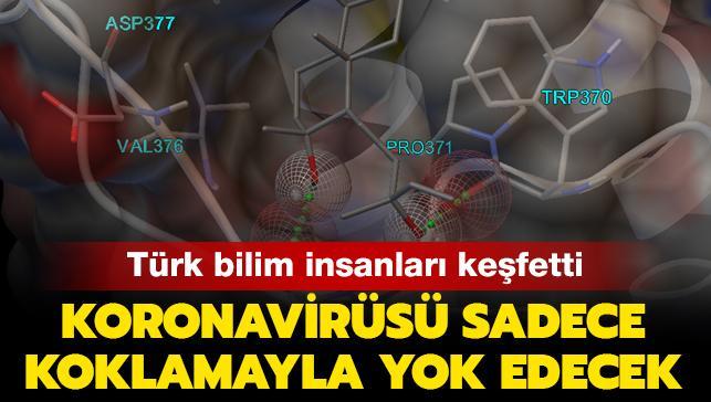 Türk bilim insanları Kovid-19'un yapısını bozan koku molekülü keşfetti