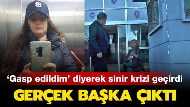 Antalya'da ilginç soygun senaryosu: 'Gasp edildim' diyen kadının yalanı güvenlik kamerasına takıldı