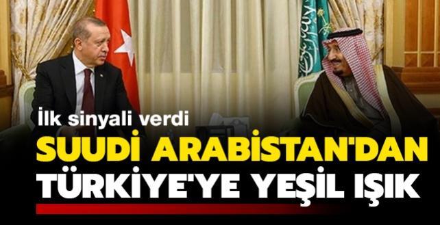 Suudi Arabistan'dan Türkiye'ye yeşil ışık! İlk sinyal verildi