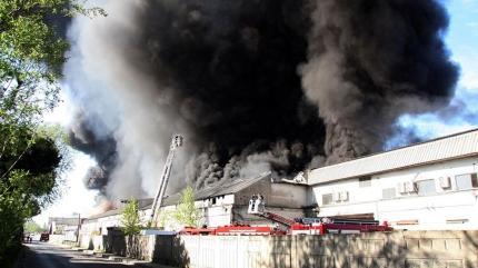 Zeytinburnu'nda yangın