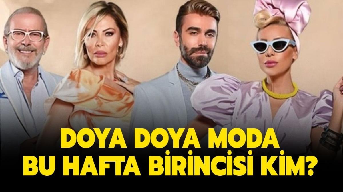 """27 Kasım Doya Doya Moda hafta birincisi kim oldu"""""""