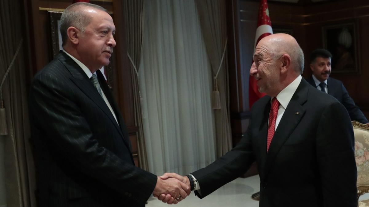 Özdemir'den Başkan'a teşekkür