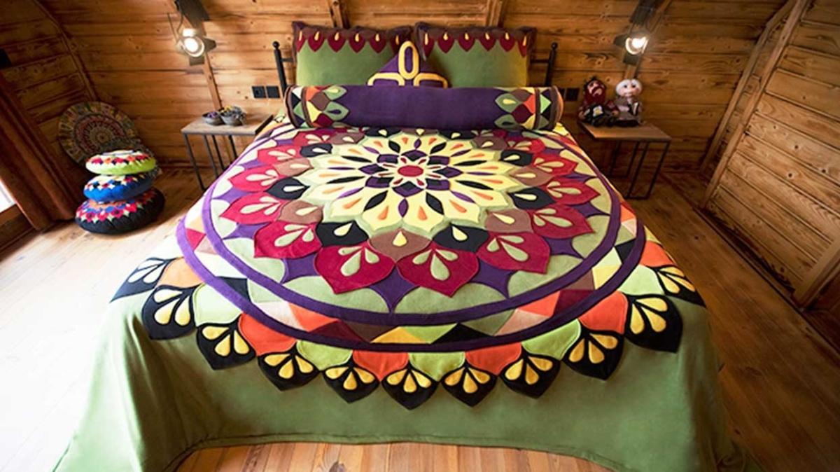 Tanju Babacan ile spiritüel ev tekstil tasarımları