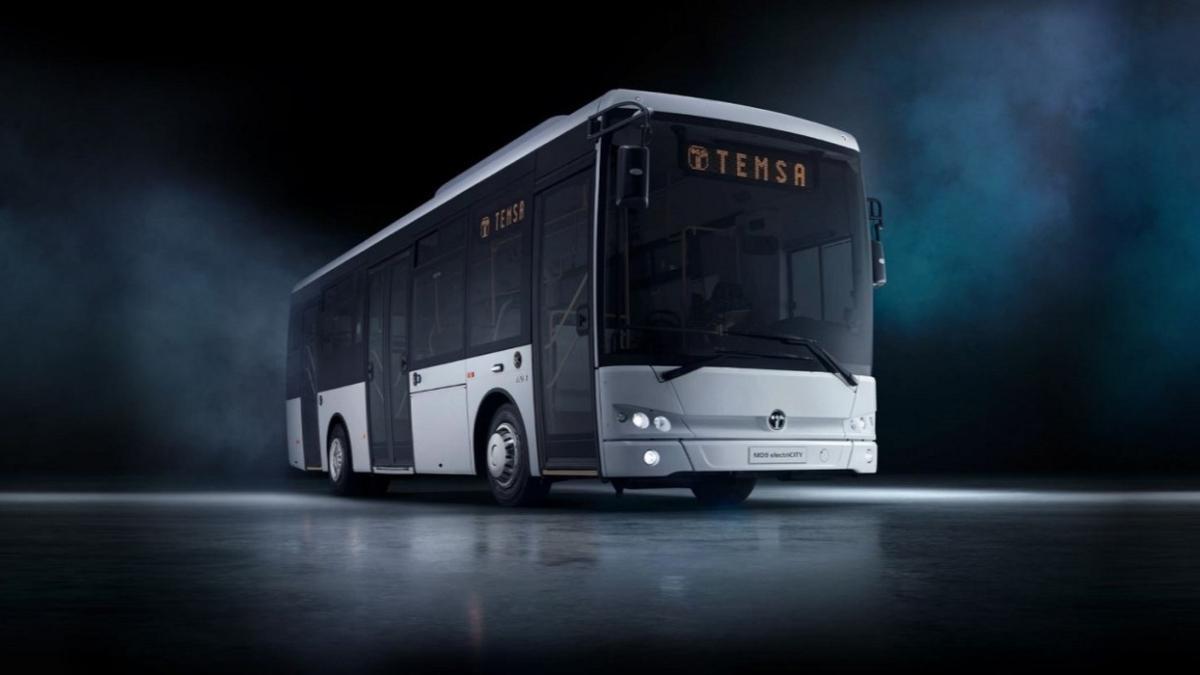 Temsa ilk elektrikli otobüs ihracını İsveç'e yaptı