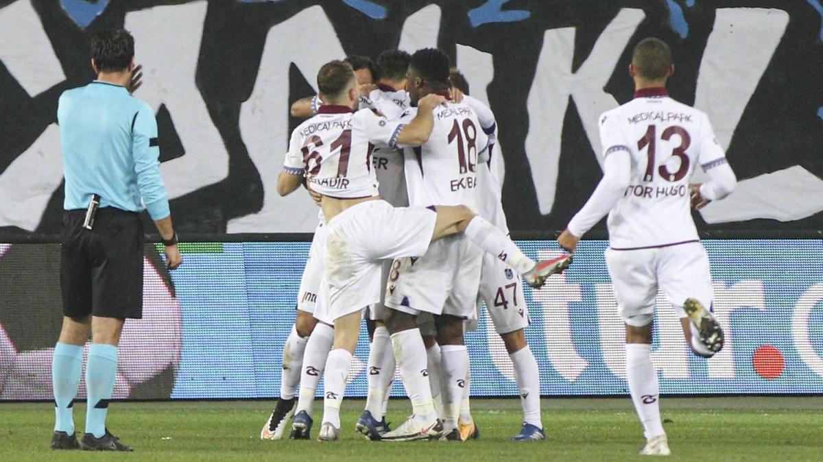 Trabzonspor, deplasmanda kazanamama lanetine son verdi