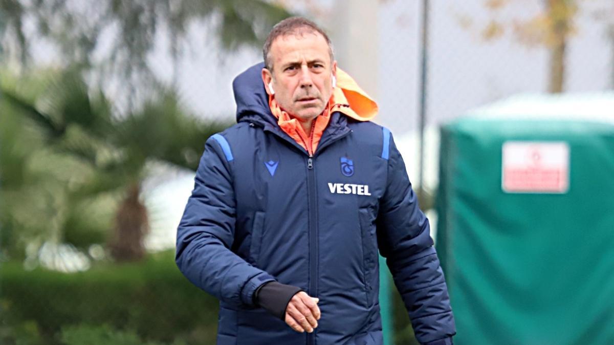 Trabzonspor'da Avcı kazanan 11'i bozmamaya karar verdi