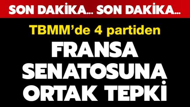 TBMM'den Fransız Senatosu'nun Yukarı Karabağ kararına kınama