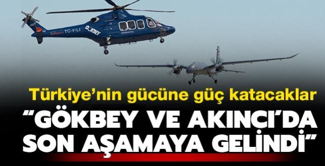 Türkiye'den müthiş savunma hamlesi: GÖKBEY ve AKINCI TİHA'da son aşamaya gelindi