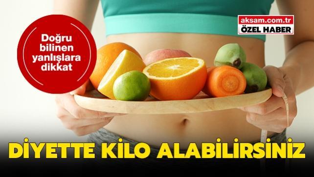 Diyet yaparken kilo almayın, sağlıklı kilo vermenin püf noktaları