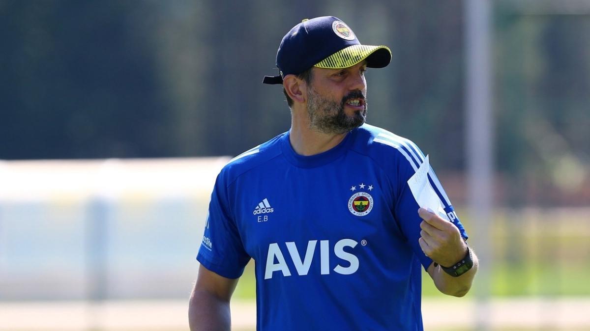 Fenerbahçe'de Erol Bulut, Beşiktaş derbisinin 11'ini belirledi