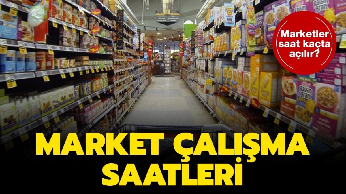 """28 Kasım Cumartesi market çalışma saatleri: Marketler saat kaçta açılıp kaçta kapanıyor"""""""
