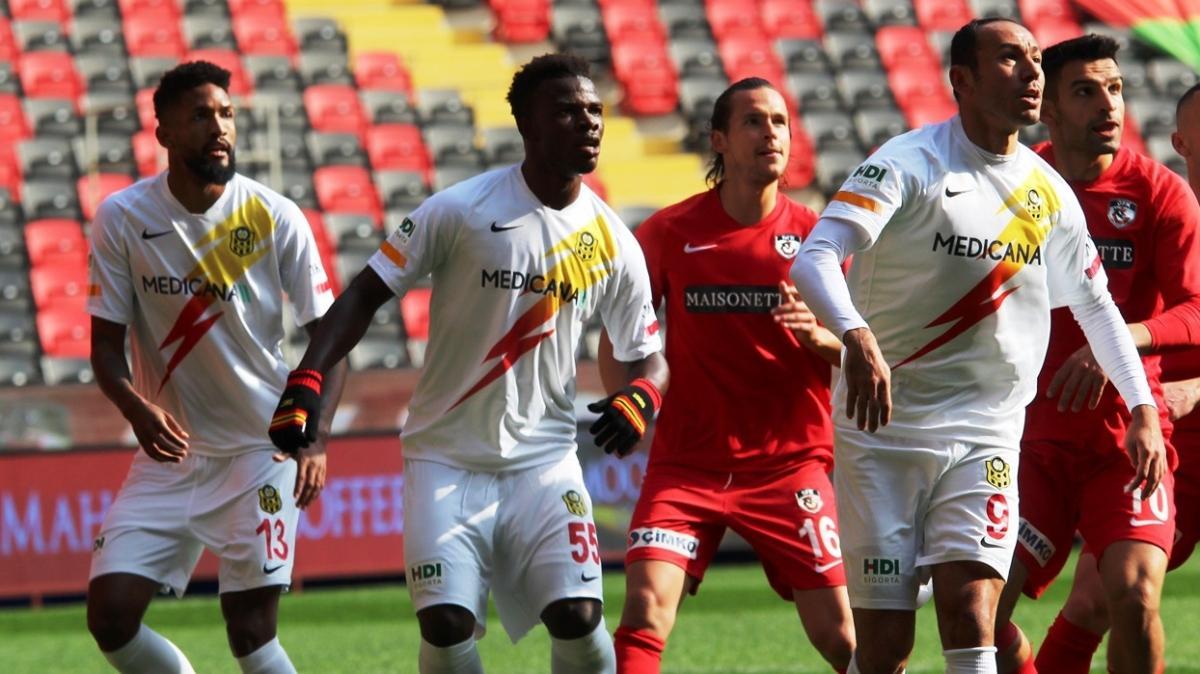 Yeni Malatyaspor deplasmanda Gaziantep FK ile 2-2 berabere kaldı