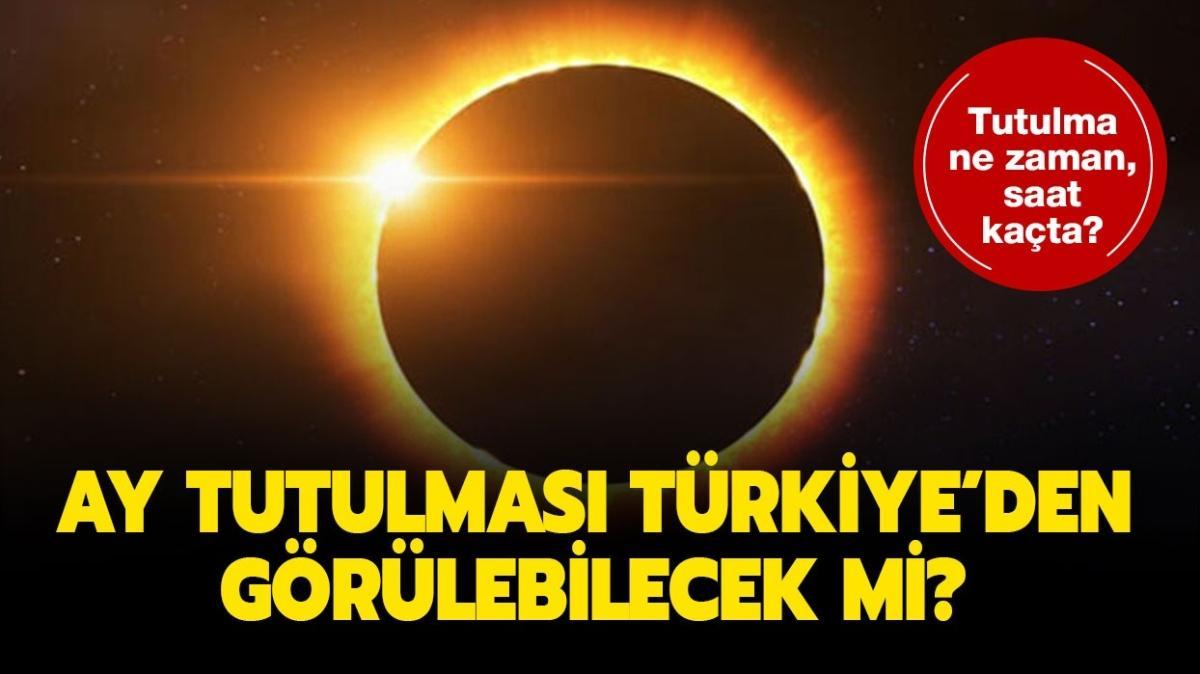"""30 Kasım ay tutulması bugün saat kaçta, Türkiye'den görülecek mi"""" 30 Kasım ay tutulması burçlara etkisi olacak mı"""""""