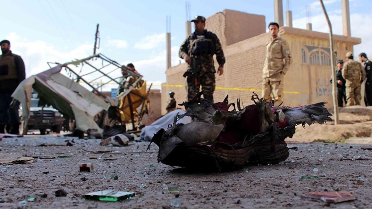 Afganistan'da bombalı saldırı: 23 ölü, 16 yaralı