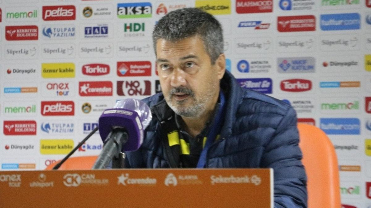 Aytemiz Alanyaspor - İttifak Holding Konyaspor maçının ardından