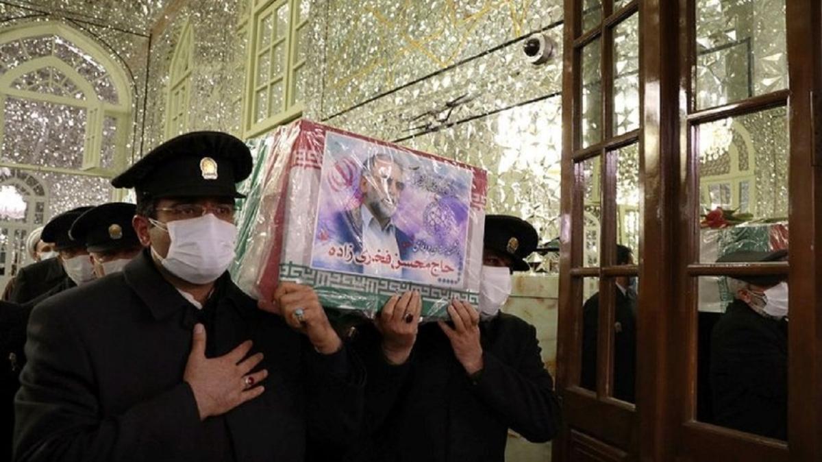 İran nükleer programının kilit ismiydi: Nükleer bilimci Fahrizade için Meşhed ve Kum'da cenaze töreni düzenlendi
