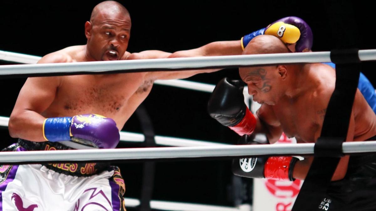 Mike Tyson - Roy Jones maçında kazanan çıkmadı