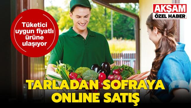 Tarladan sofraya aracısız online satış