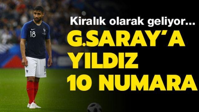 Galatasaray'a 10 numara transfer