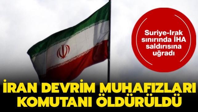 İran Devrim Muhafızları Komutanı Müslüm Şehdan İHA saldırısında öldürüldü