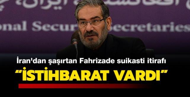 """İran'dan şaşırtan Fahrizade suikasti itirafı: """"İstihbarat vardı, ciddiye alınmadı"""""""