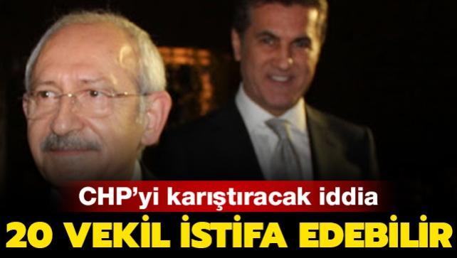CHP'yi karıştıracak iddia: 20 vekil istifa edebilir