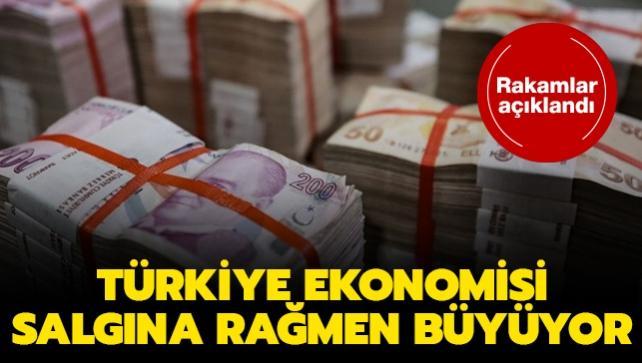 Türkiye ekonomisinin büyüme rakamları açıklandı