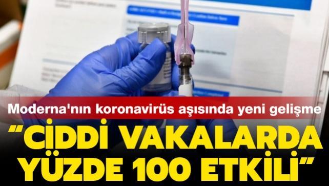 Moderna'dan aşı açıklaması: Son aşı denemelerinde yüzde 94,1 başarı sağlandı