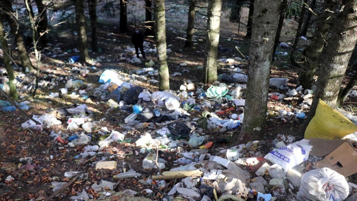At Yaylası'nda üzen görüntüler: Doğa harikasıydı çöplüğe döndü