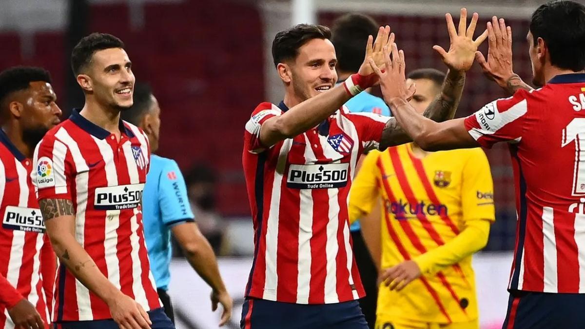 Atletico Madrid 6 maçlık galibiyet serisiyle göz alıyor