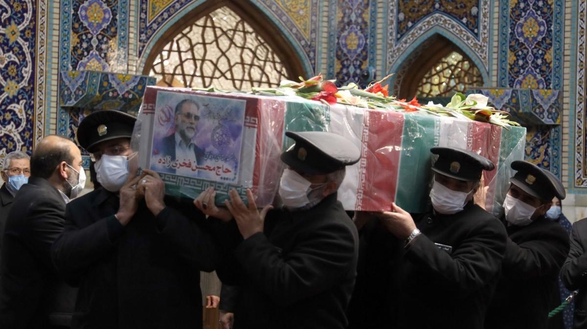 Muhsin Fahrizade suikastında yeni iddia: Uzaktan kumandalı makinalı tüfekle öldürüldü