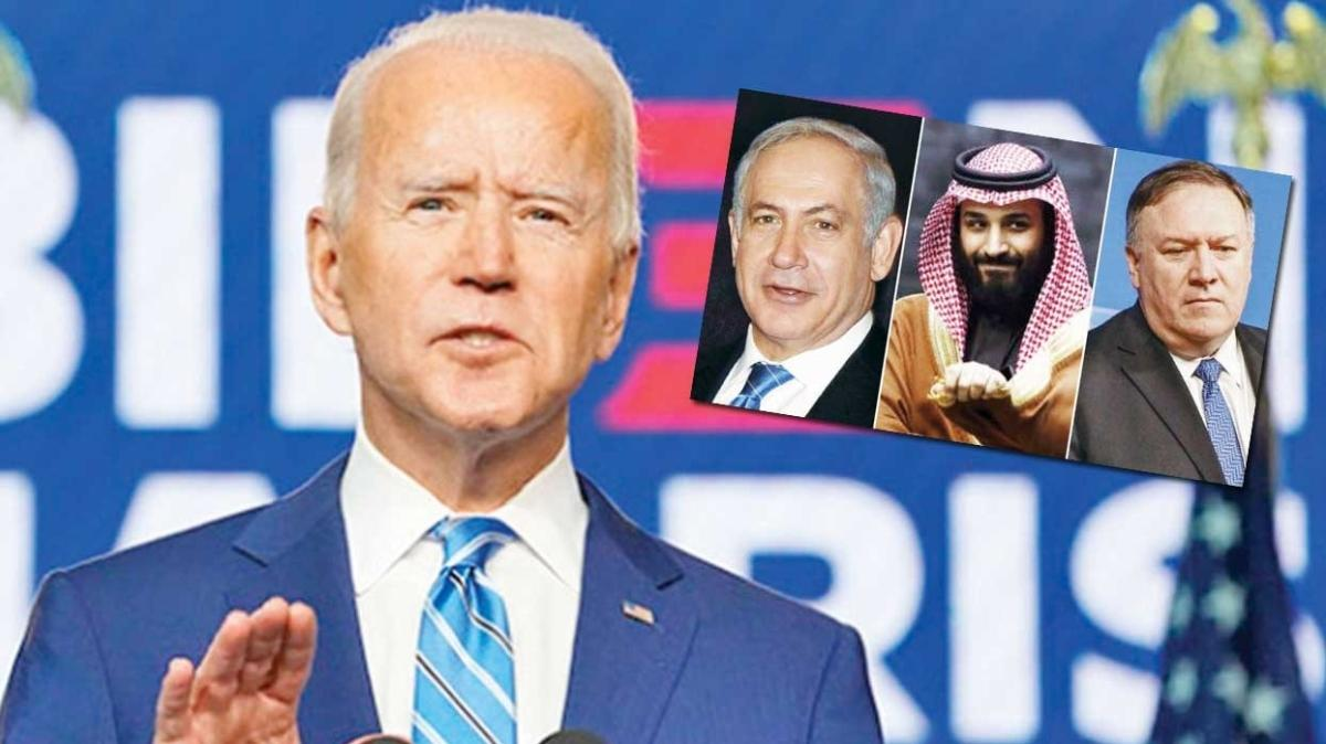 Şer ittifakını Joe Biden freni