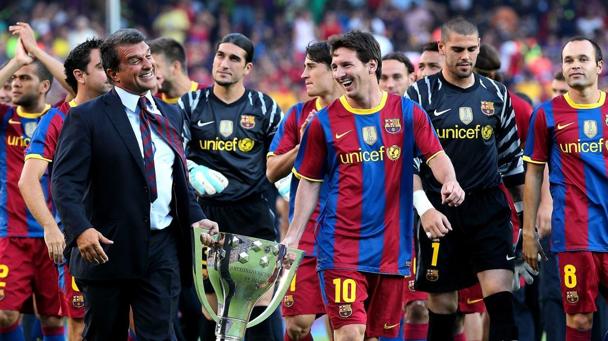 Ve Barça'da efsane başkan Laporta aday