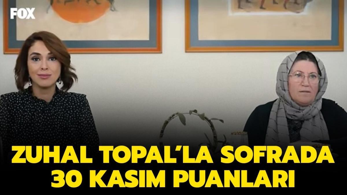 Zuhal Topal'la Sofrada 30 Kasım puan durumu belli oldu!