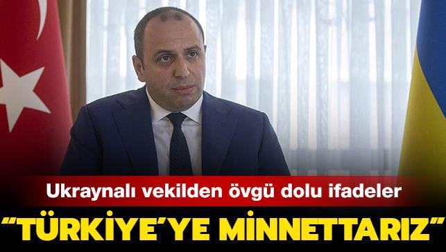 """Ukrayna Parlamentosu Milletvekili Umerov: """"Türkiye'ye minnettarız"""""""
