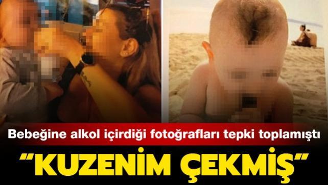 Bebeğine alkol içiren annenin ifadesi ortaya çıktı