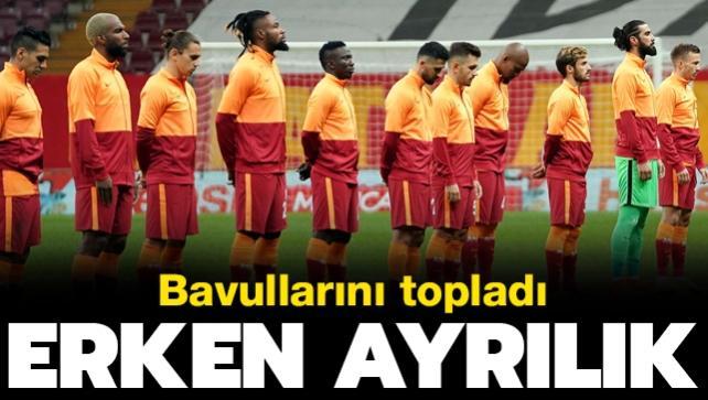 Galatasaray'da erken ayrılık! Bavullarını topladı