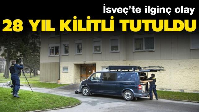 İsveç'te ilginç olay: Oğlunu 28 yıl kilitli tuttu