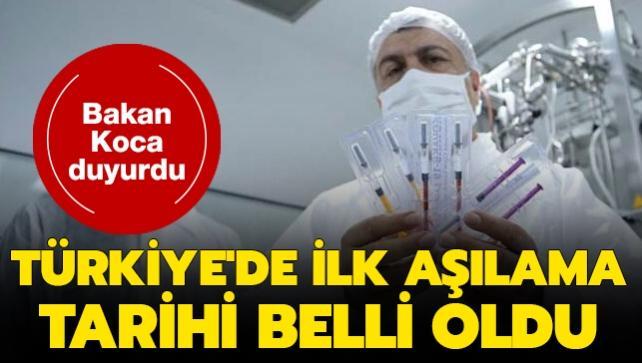 Koronavirüs aşısında ilk imzalar atıldı! Türkiye için aşılama tarihi belli oldu