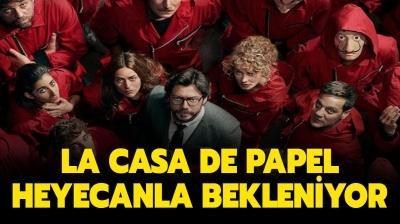 La Casa De Papel yeni (final) sezon tarihi belli oldu mu? La Casa De Papel 5. sezon ne zaman çıkacak?