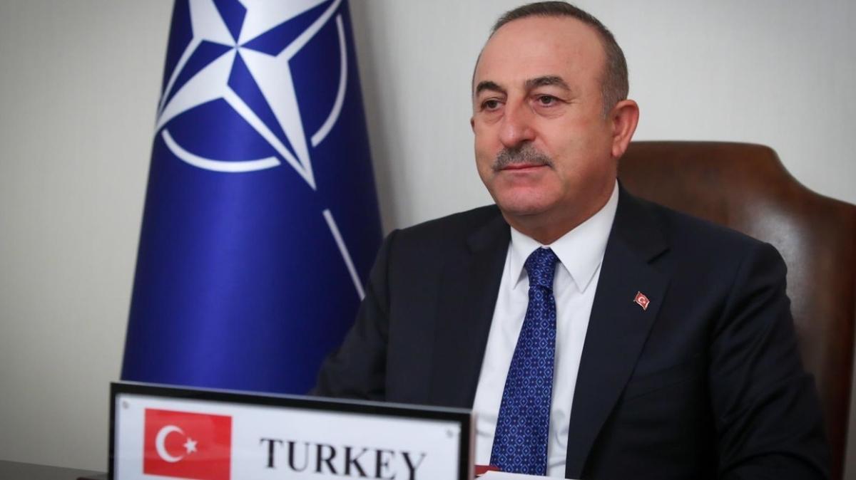 Dışişleri Bakanı Çavuşoğlu, NATO Dışişleri Bakanları Toplantısı'na katıldı