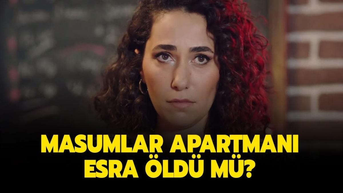 "Masumlar Apartmanı Esra öldü mü"" Masumlar Apartmanı Esra kimdir"""