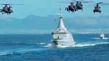 Doğu Akdeniz'de barışın düşmanı tatbikat başladı