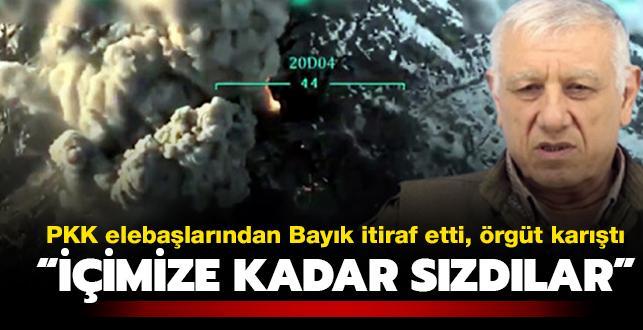 Terör örgütü PKK elebaşlarından Bayık itiraf etti, örgüt karıştı: İçimize kadar sızdılar