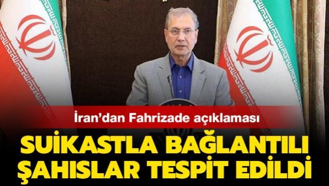 İran'dan Fahrizade açıklaması: Suikastla bağlantılı şahıslar tespit edildi